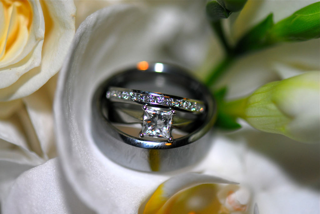 wedding photograph rings